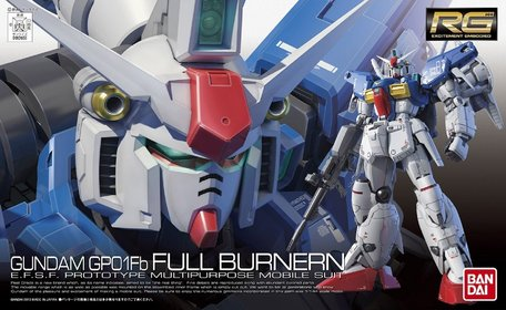 RG 1/144: RX-78GP01Fb Gundam GP01Fb Full Burnern