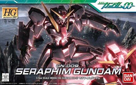HG 1/144: GN-009 Seraphim Gundam