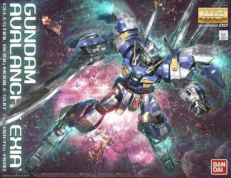 MG 1/100: GN-001/hs-A01D Gundam Avalanche Exia