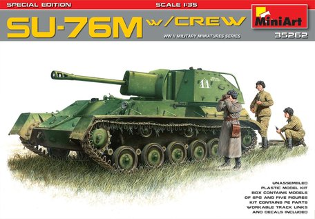 MiniArt Su-76m W/Crew Special Edition 1:35