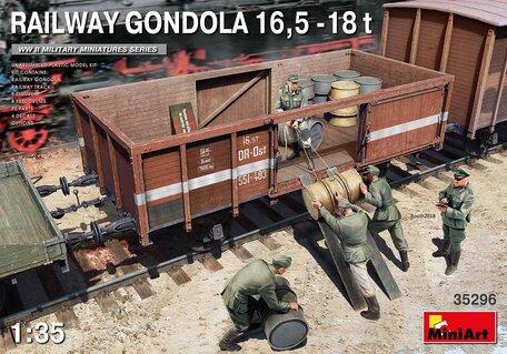MiniArt Railway Gondola 16,5-18t 1:35