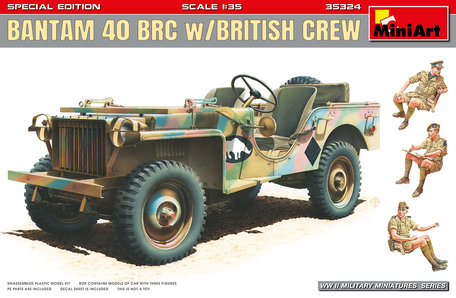 MiniArt Bantam 40 BRC W/British Crew. Special Edition 1:35