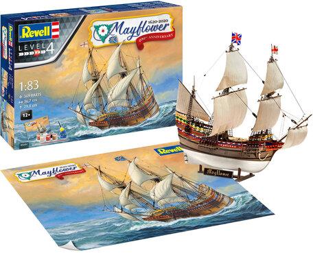 Revell Mayflower - 400th Anniversary 1:83