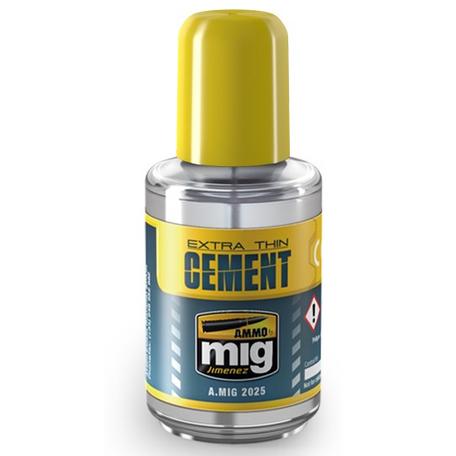 Plastic Lijm: AMMO Mig Extra Thin Cement