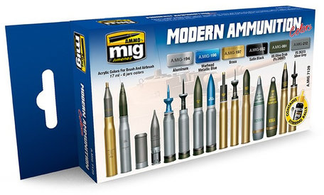 AMMO Paint Set: Modern Ammunition