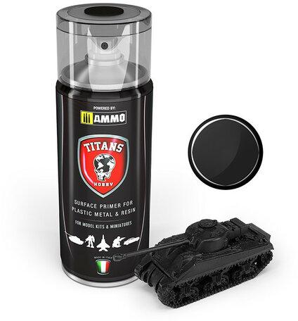 AMMO Mig Black Matt Primer Spray