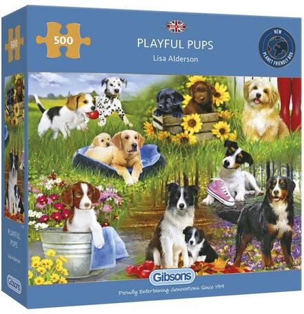 Gibsons Playful Pups (500)