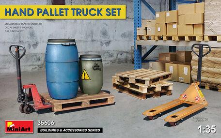 MiniArt Hand Pallet Truck Set 1:35