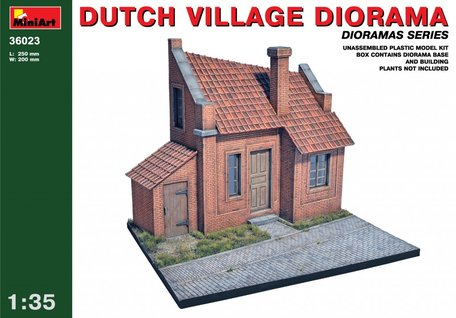 MiniArt Dutch Village Diorama 1:35