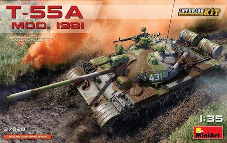 MiniArt T-55A MOD.1981 Interior Kit 1:35