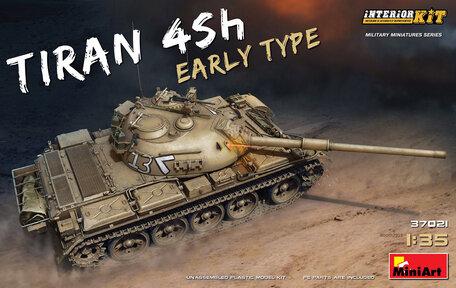 MiniArt Tiran 4 Sh Early Type. Interior Kit 1:35