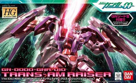 HG 1/144: GN-0000+GNR-010 Trans-Am Raiser