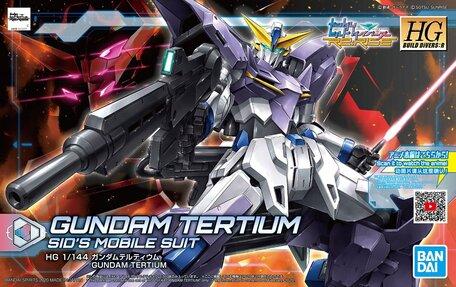 HG 1/144: MSF-007TE Gundam Tertium