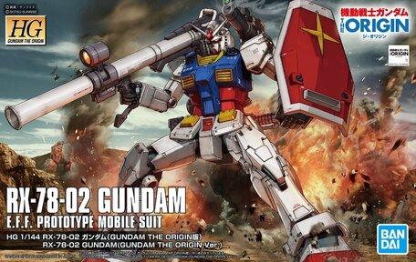 HG 1/144: RX-78-02 Gundam