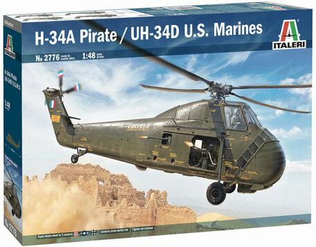 Italeri H-34A Pirate /UH-34D U.S. Marines 1:48