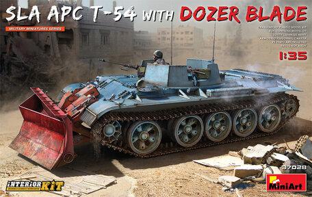 MiniArt SLA APC T-54 w/Dozer Blade Interior Kit 1:35