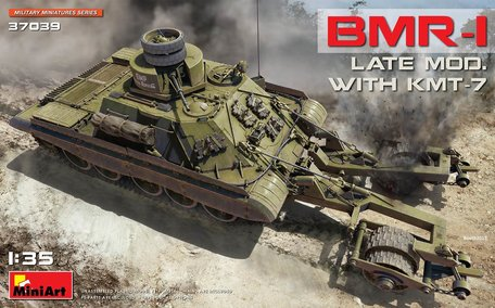 MiniArt BMR-1 Late Mod. with KMT-7 1:35