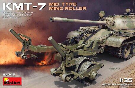 MiniArt KMT-7 Mid Type Mine-Roller 1:35