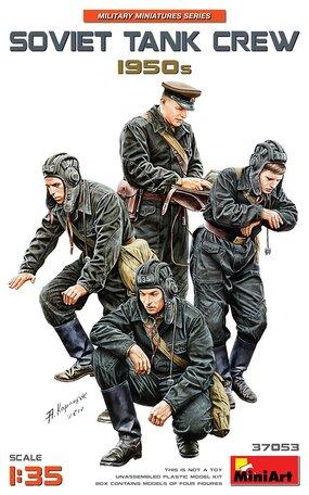 MiniArt Soviet Tank Crew 1950s 1:35