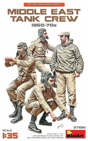 MiniArt Middle East Tank Crew 1960-70s 1:35