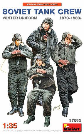 MiniArt Soviet Tank Crew 1970-1980s. Winter Uniform 1:35
