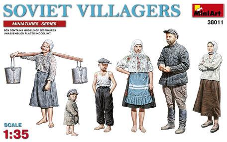 MiniArt Soviet Villagers 1:35