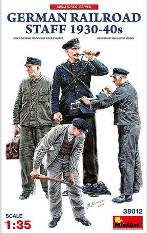 MiniArt German Railroad Staff 1930-40s 1/35