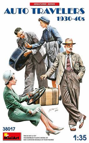 MiniArt Auto Travelers 1930-40s 1:35