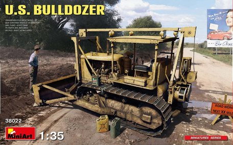 MiniArt U.S. Bulldozer 1:35