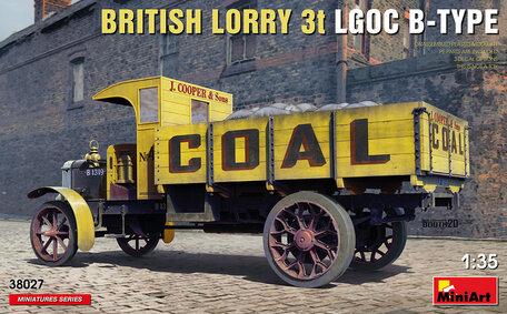MiniArt British Lorry 3t Lgoc B-Type 1:35