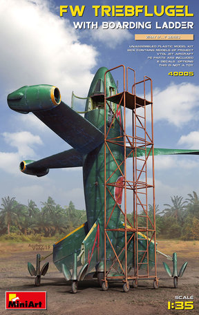 MiniArt FW Triebflugel With Boarding Ladder 1:35