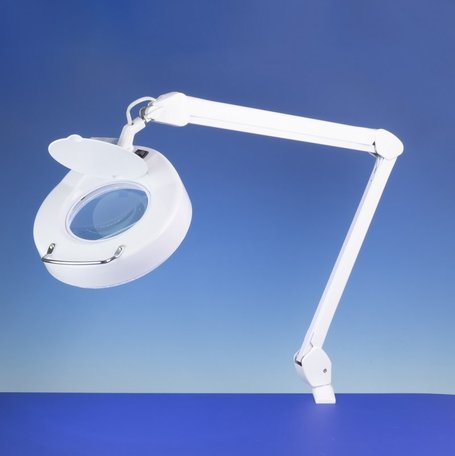 Lightcraft Beugel LED Lamp met Vergrootglas
