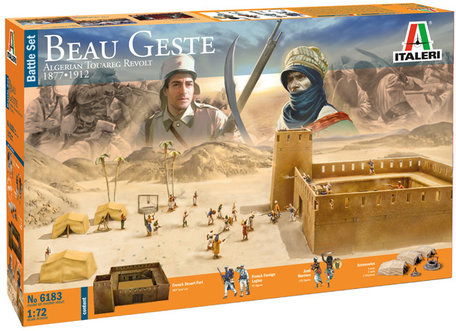 Italeri Beau Geste: Algerian Tuareg Revolt 1:72
