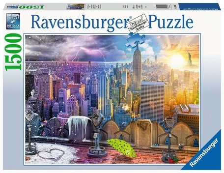 Ravensburger New York Winters en Zomers (1500)