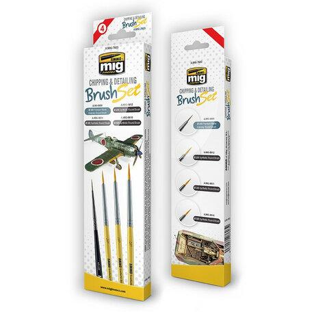 AMMO Chipping & Detailing Brush Set