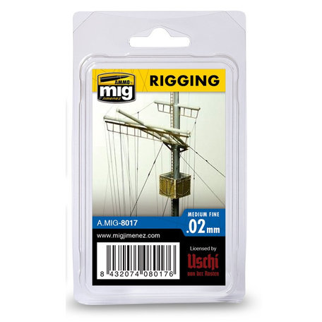 AMMO Rigging Medium Fine 0.02 mm