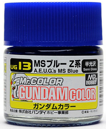 Mr.Hobby Gundam Color A.E.U.G.'s MS Blue 10 ml