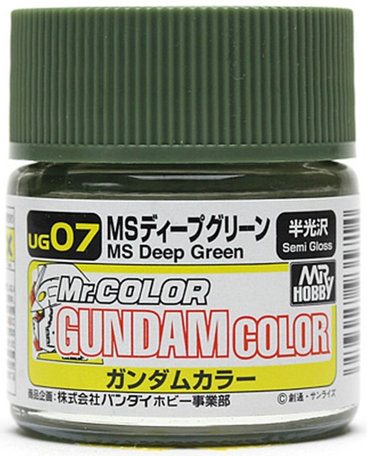 Mr.Hobby Gundam Color MS Deep Green 10 ml