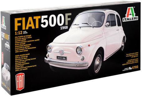 Italeri Fiat 500F 1968 1:12