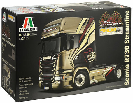 Italeri Scania R730 Streamline 1:24
