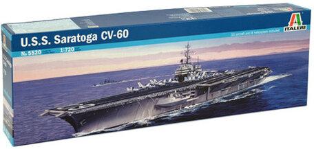 Italeri U.S.S. Saratoga CV60 1:720