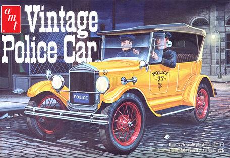 AMT Ford T Vintage Police Car 1927 1:25