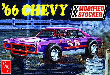 AMT Chevy Impala Modified Stocker 1966 1:25