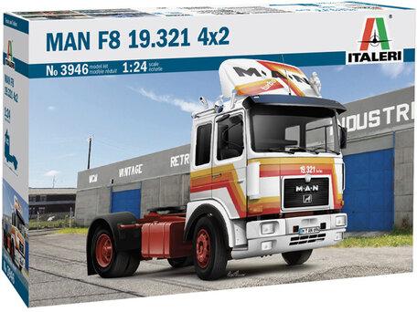 Italeri MAN F8 19.321 4x2 1:24