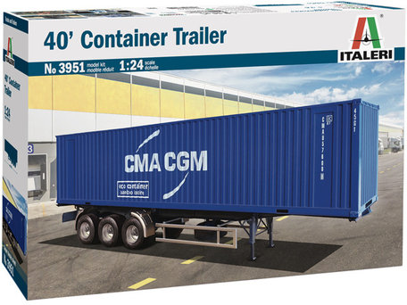 Italeri 40' Container Trailer 1:24