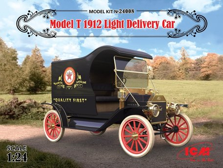 ICM Model T 1912 Light Delivery Car 1:24