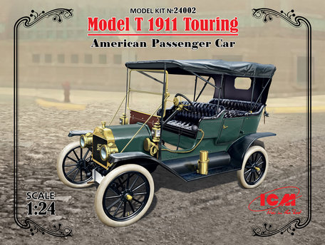 ICM Model T 1911 Touring American Passenger Car 1:24