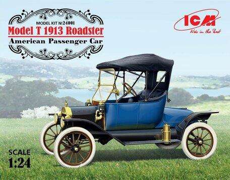 ICM Model T 1913 Roadster American Passenger Car 1:24