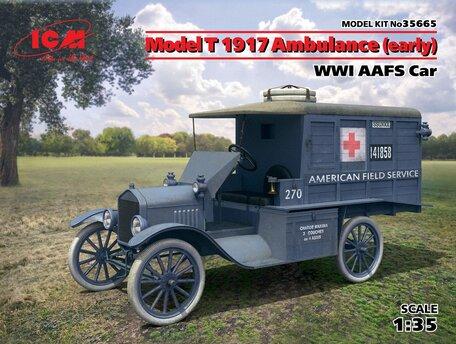 ICM Model T 1917 Ambulance 1:35