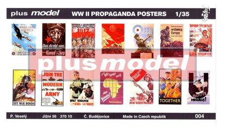 Plus Model Propaganda Posters 1:35